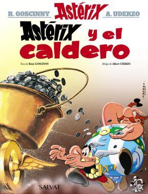 Portada de Asterix 13: Asterix Y El Caldero
