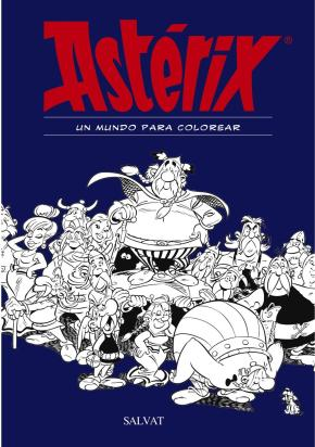 Portada de Asterix: Un Mundo Para Colorear