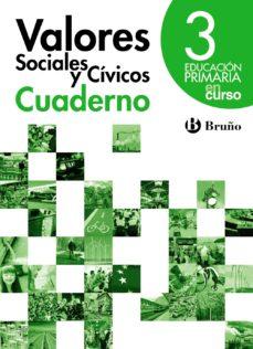 Portada de En Curso Valores Sociales Y Civicos 3º Educacion Primaria Cuadern O
