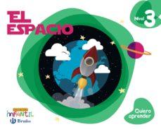 Portada de Quiero Aprender Infantil 5 Años Nivel 3 El Espacio