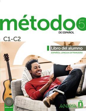 Portada de Metodo 5: Libro Del Alumno C1-c2 (anaya Ele)