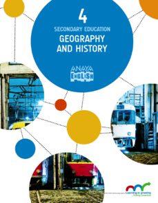Portada de Geography And History 4, 4º Eso Segundo Ciclo Mec