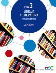 Portada de Lengua Y Literatura 3, 3º Eso Segundo Ciclo Andalucia