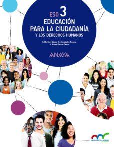 Portada de Educacion Para La Ciudadania 3, 3º Eso Segundo Ciclo Andalucia