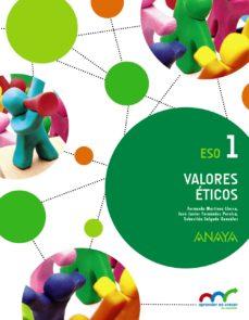 Portada de Valores Eticos 1, 1º Eso Andalucia