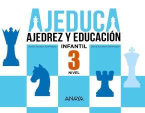 Portada de Ajeduca 3 Educacion Infantil 3 Años / 4 Años / 5 Años Mec