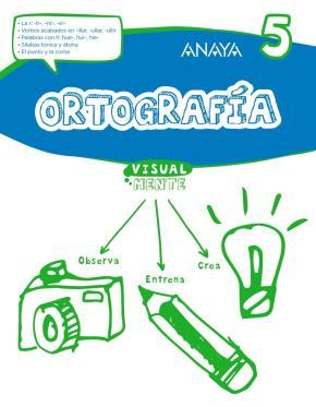 Portada de Ortografia 5.3º Educacion Primaria