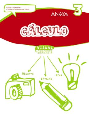 Portada de Calculo 3. 1º/ 2º Educacion Primaria Castellano Ed 2017 Mec