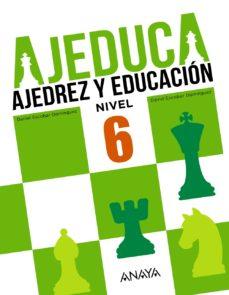 Portada de Ajeduca 6º Educacion Primaria Castellano Ed 2017 Mec