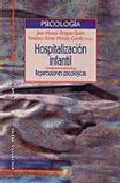 Portada de Hospitalizacion Infantil: Repercusiones Psicologicas. Teoria Y Pr Actica