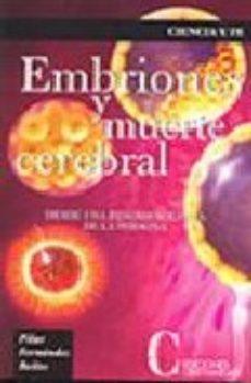Portada de Embriones Y Muerte Cerebral