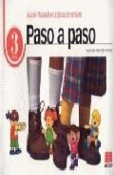 Portada de Paso A Paso 3. Accion Tutorial En Educacion Infantil (3 Años)