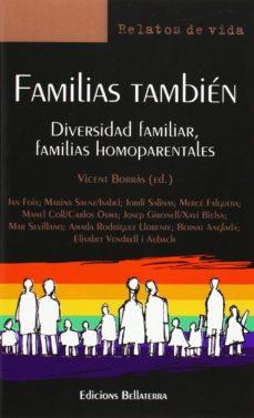 Portada de Familias Tambien: Diversidad Familiar, Familias Homoparentales