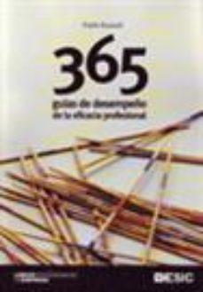 Portada de 365 Guias De Desempeño De La Eficacia Profesional