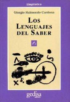 Portada de Los Lenguajes Del Saber