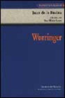 Portada de Worringer