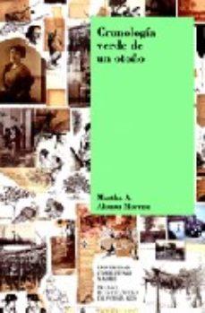 Portada de Cronologia Verde De Un Otoño (premio Blas De Otero De Poesia 2008 )