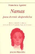 Portada de Nanas Para Dormir Desperdicios (premio Valencia De Poesia)