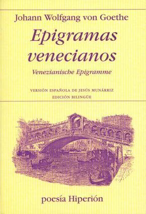 Portada de Epigramas Venecianos