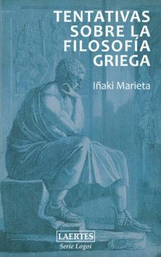 Portada de Tentativas Sobre La Filosofia Griega