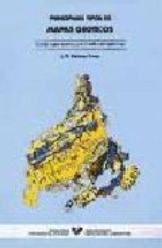 Portada de Principales Tipos De Mapas Geoticos:guia De Mapas Tematicos Para El Analisis Del Medio Fisico