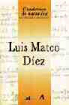 Portada de Luis Mateo Diez