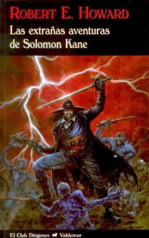 Portada de Las Extrañas Aventuras De Solomon Kane