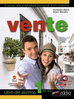 Portada de Ven: Vente 1: Libro Del Alumno (a1 + A2): Curso De Español Genera L En 3 Niveles