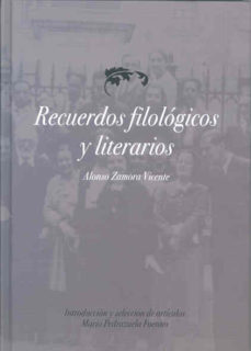 Portada de Recuerdos Filologicos Y Literarios