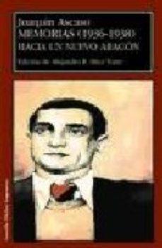 Portada de Memorias (1936-1938): Hacia Un Nuevo Aragon