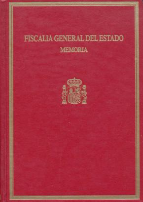 Portada de Memoria Fiscalia General Del Estado