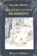 Portada de Relatos Chinos De Espiritus