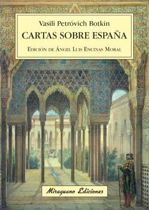 Portada de Cartas Sobre España