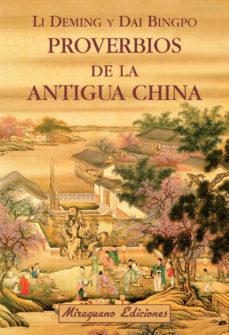 Portada de Proverbios De La Antigua China