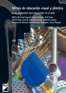 Portada de Menus De Educacion Visual Y Plastica
