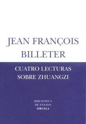 Portada de Cuatro Lecturas Sobre Zhuangzi