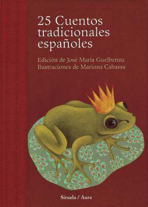 Portada de 25 Cuentos Tradicionales Españoles