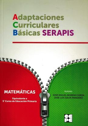 Portada de Matematicas – 5º Educacion Primaria. Adaptaciones Curriculares Basicas Serapis