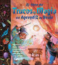 Portada de El Libro De Los Trucos De Magia Del Aprendiz De Brujo