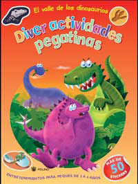Portada de El Valle De Los Dinosaurios (diveractividades Con Pegatinas)