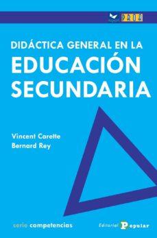 Portada de 46. Didactica General En Educacion Secundaria