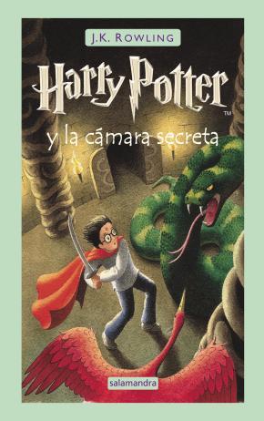 Portada de Harry Potter Y La Camara Secreta