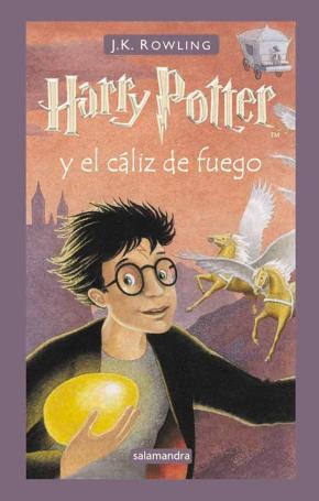 Portada de Harry Potter Y El Caliz De Fuego