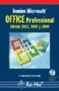 Portada de Office Professional: Edicion 2003, 2002 Y 2000 (incluye Cd-rom)