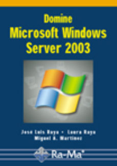 Portada de Domine Microsoft Windows Server 2003