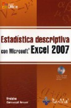 Portada de Estadistica Descriptiva Con Microsoft Excel 2007