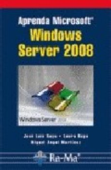 Portada de Aprenda Microsoft Windows Server 2008