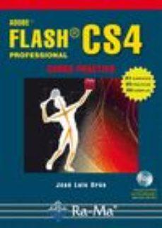 Portada de Adobe Flash Cs4 Professional (curso Practico)