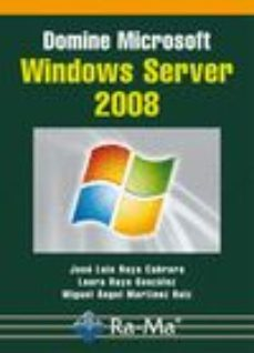 Portada de Domine Microsoft Windows Server 2008