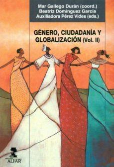 Portada de Genero, Ciudadania Y Globalizacion Vol. Ii